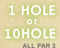 1HOLE or 10HOLE ALL PAR 3